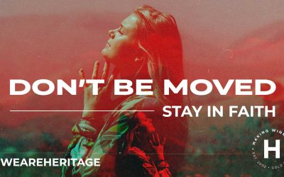 Don't Be Moved – Stay in Faith | Ps Shaun Smit | August 1, 2021