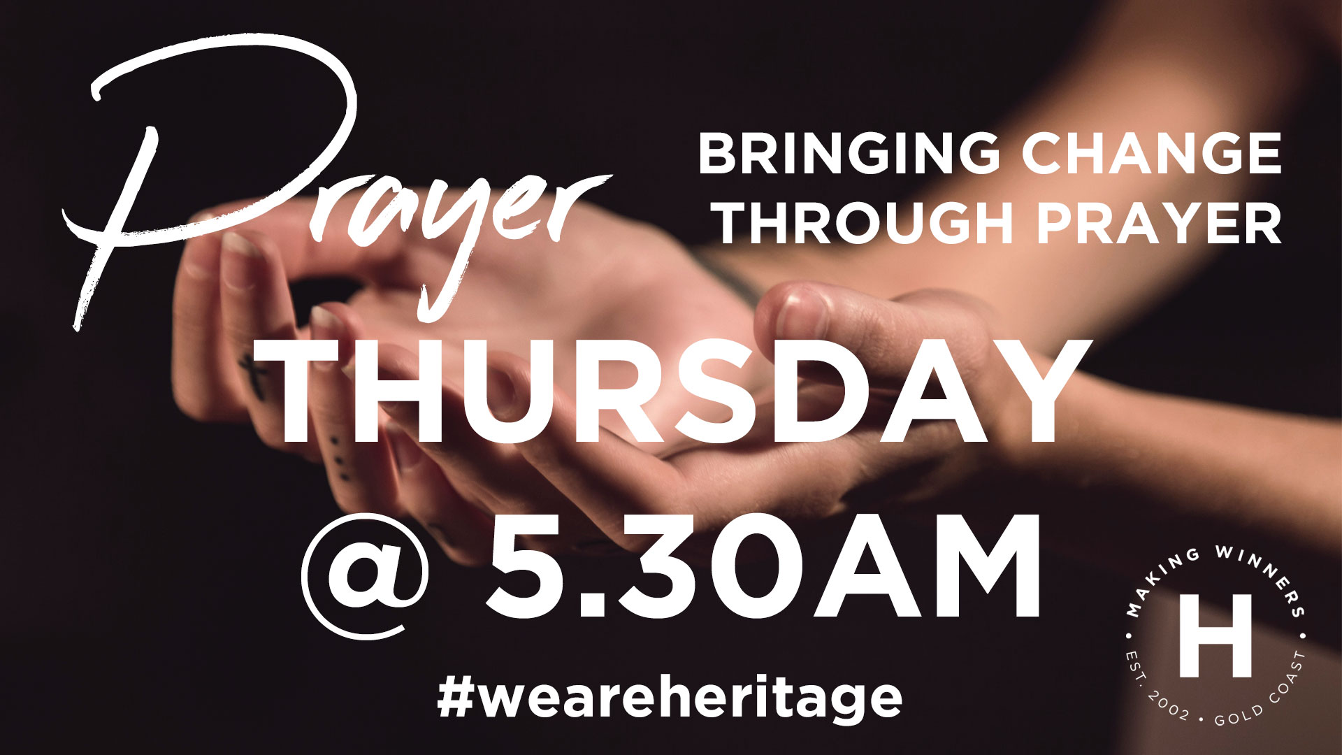 Thursday Prayer Meeting