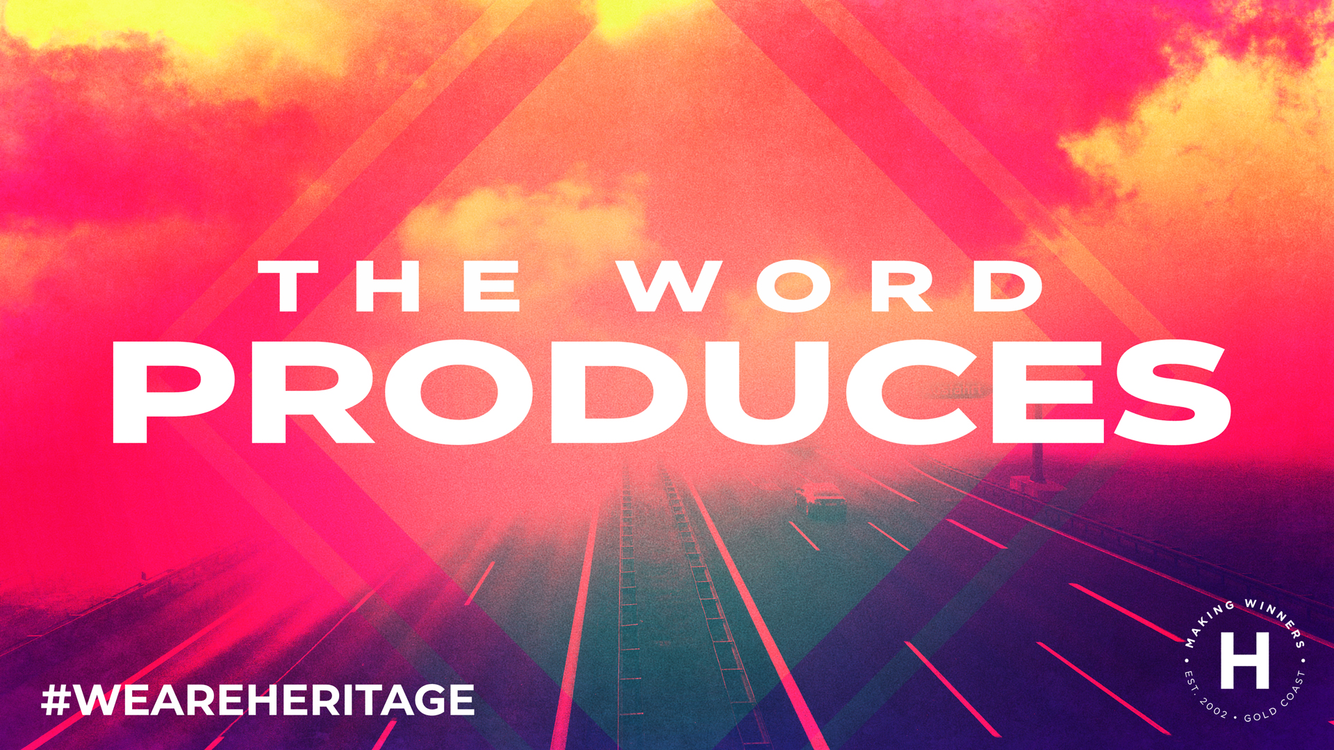 The Word Produces