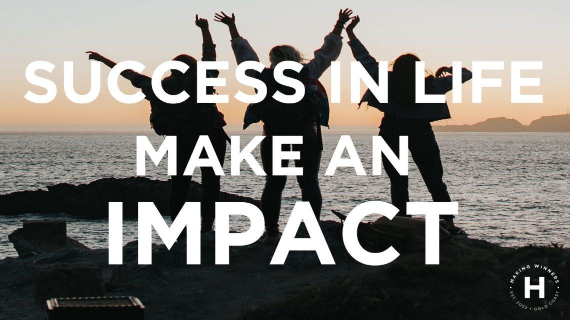 Be an Impact