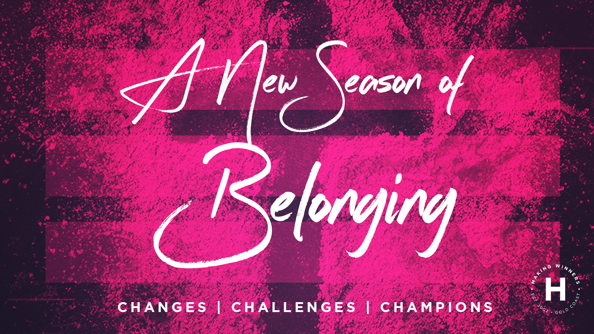 A New Season of Belonging
