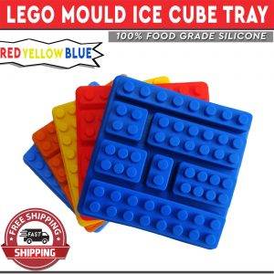 Lego Ice Cube Tray DIY Mixed Block Set Mould
