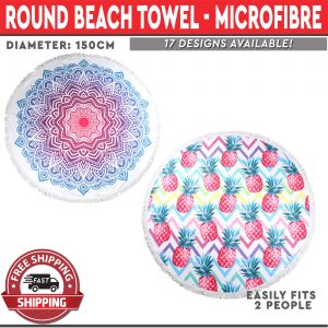 Microfibre Beach Towel 150cm 17 Designs