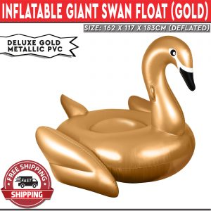 Inflatable Giant Swim Float Gold
