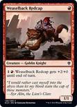 Weaselback Redcap