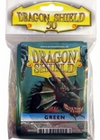 50 Deck Protector Sleeves Dragon Shield Magic STANDARD GREEN Verde Bustine Protettive Buste