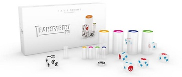 T.I.M.E. STORIES : TRANSPARENT SET Promo Gioco da Tavolo
