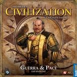 CIVILIZATION : GUERRA E PACE Espansione Gioco da Tavolo in Italiano