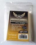 50 Card Sleeves Mayday PREMIUM MINI USA 41x63 Bustine Protettive Giochi da Tavolo Buste