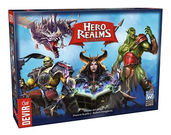 Hero Realms - Bunndle Base + Personaggi + Rovina di Thandar
