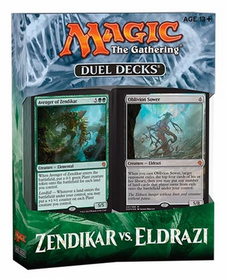 Duel Decks Magic Zendikar vs. Eldrazi 2 Deck Mazzo Duello Inglese