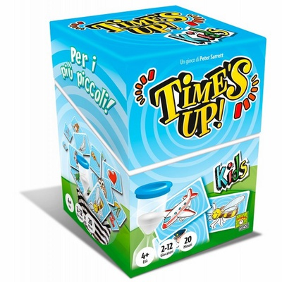 TIME'S UP Kids Gioco da Tavolo Italiano