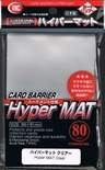 80 Card Barrier Kmc Magic HYPER MAT CLEAR Trasparente Bustine Protettive Buste 66x91