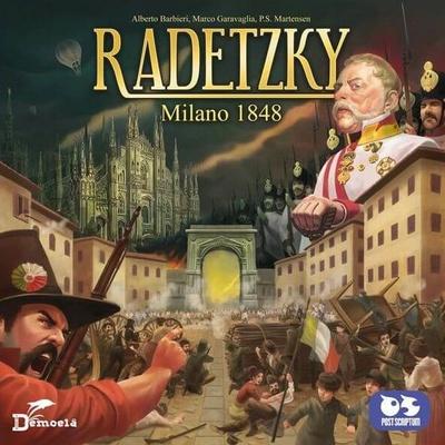 RADETZKY MILANO 1848 Gioco da Tavolo