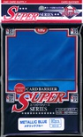 80 Card Barrier Kmc Magic SUPER SERIES METALLIC BLUE Blu Metallico Bustine Protettive Buste 66x91