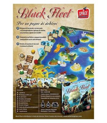 BLACK FLEET Gioco da Tavolo