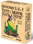 MUNCHKIN 5, 6 e 7 : TUTTI I MOSTRI FATTI A FETTE Espansione Gioco da tavolo in italiano