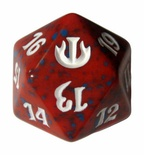 Magic SPINDOWN Dice d20 JOU Red Rosso Dado Segna Punti Life Counter