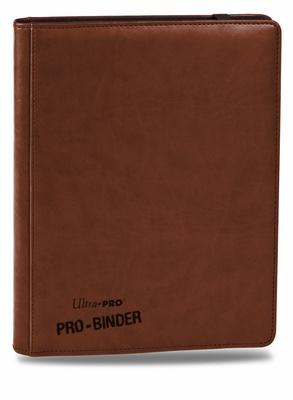Album Ultra Pro PRO BINDER PREMIUM BROWN Marrone Raccoglitore 9 Tasche 20 Pagine