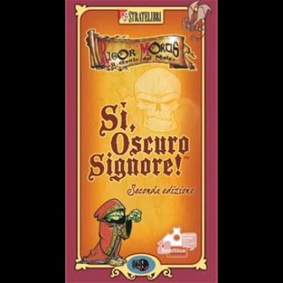 SÌ, OSCURO SIGNORE! SCATOLA BASE ROSSA (Seconda Edizione) Gioco da Tavolo in Italiano