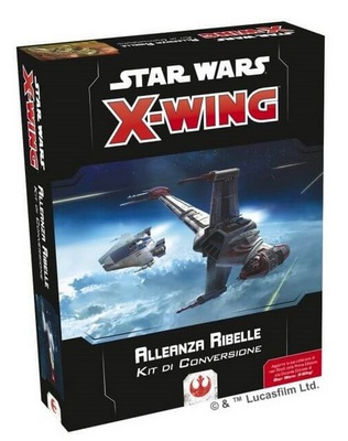 STAR WARS X-WING 2ed : KIT CONVERSIONE ALLEANZA RIBELLE Gioco di Miniature