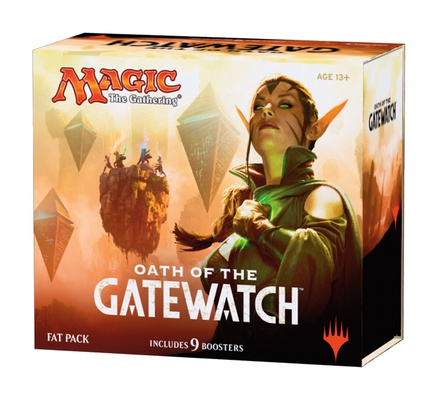 Fat Pack Magic OATH OF GATEWATCH Inglese Giuramento dei Druidi
