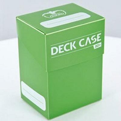 Deck Case Box 80+ Ultimate Guard MagicLIGHT GREEN VERDE CHIARO Porta Mazzo