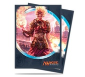 80 Sleeves Ultra Pro Magic KALADESH Chandra Torch Of Defiance V2 Bustine Protettive
