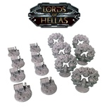 LORDS OF HELLAS: Terrain Expansion 2 Ports & Gates Deluxe 3D Porti e Portali (Unofficial)