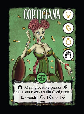 JEWELS : La Cortigiana Carta Promo
