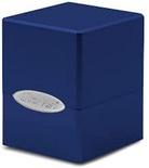 Deck Box Ultra Pro Magic SATIN CUBE BLU Blu Pacifico Artico Porta Mazzo Scatola 100 Carte