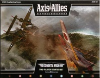 AXIS & ALLIES : AIR FORCE MINIATURES BANDITS HIGH STARTER SET Espansione Gioco da Tavolo Inglese