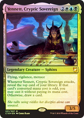 Yennett, Cryptic Sovereign