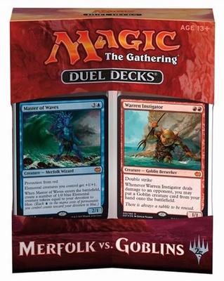Duel Decks Magic Merfolk vs Goblin 2 Deck Mazzo Duello Inglese
