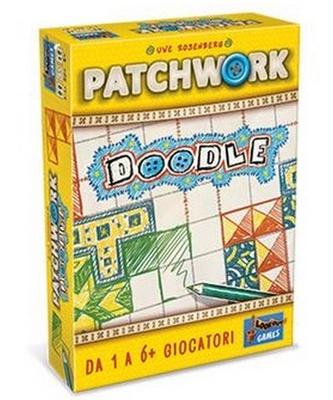 PATCHWORK DOODLE Gioco da Tavolo