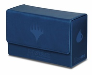 Deck Box Ultra Pro Magic MANA DUAL FLIP BOX BLUE Blu Porta Mazzo Scatola 200 Carte