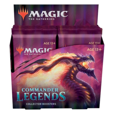 Box Magic COMMANDER LEGENDS 12 Buste Booster Inglese