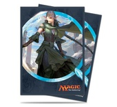 80 Sleeves Ultra Pro Magic KALADESH Nissa Vital Force V4 Bustine Protettive