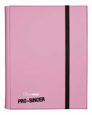 Album Ultra Pro PRO BINDER PINK Rosa Raccoglitore 9 Tasche 20 Pagine