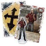 DEAD OF WINTER : PROMO KODIAK COLBY Accessorio Gioco da Tavolo