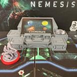 NEMESIS : Console di Pilotaggio Astronave 3D Cockpit Console Token Sci-fi