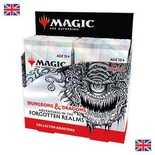 Box Magic FORGOTTEN REALMS Collector 12 Buste Booster Inglese