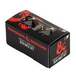 2 d20 Dice Set Ultra Pro D&D HEAVY METAL DICE SET Dadi NERO rosso