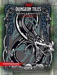 D&D DUNGEON TILES REINCARNATED : CITTA' 5th Edition Accessorio Gioco di Ruolo