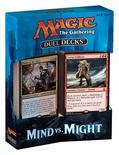 Duel Decks Magic MIND vs MIGHT Deck Mazzo Duello Inglese
