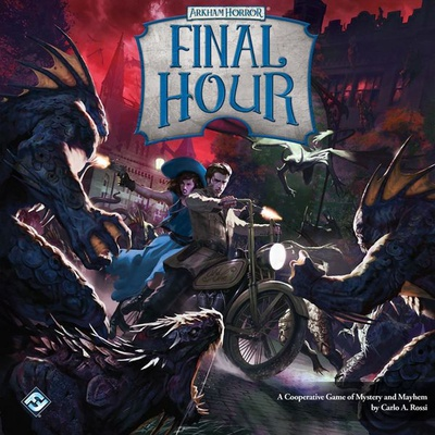 ARKHAM HORROR : FINAL HOUR Gioco da Tavolo