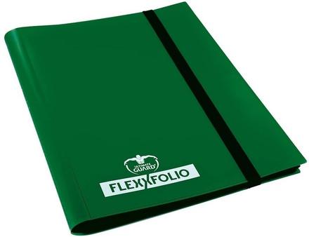 Album  4 tasche Ultimate Guard 4 POCKET FLEXXFOLIO Green Verde 20 pagine