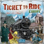 TICKET TO RIDE EUROPA : Gioco da Tavolo in Italiano