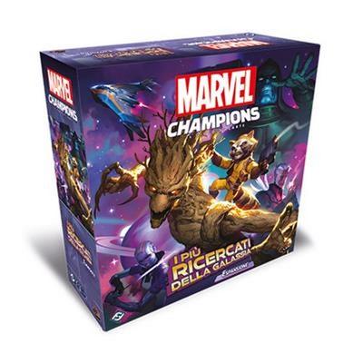 Marvel Champions LCG: I Più Ricercati della Galassia