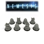 NEMESIS : 8x Uova Aliene Deluxe 3D Eggs